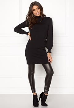 Happy Holly Haddie sweater dress Black Bubbleroom.eu