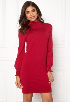 Happy Holly Haddie sweater dress Red Bubbleroom.eu