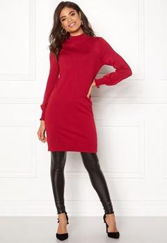 Happy Holly Haddie sweater dress Red Bubbleroom.eu
