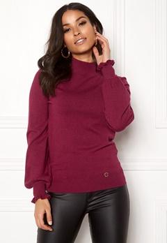 Happy Holly Haddie sweater Wine-red Bubbleroom.eu
