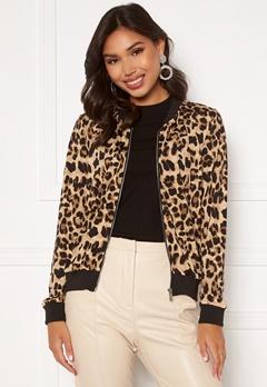 Happy Holly Hanna bomber jacket Leopard Bubbleroom.eu