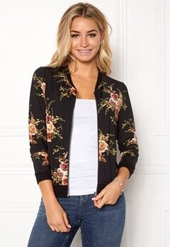 Happy Holly Hanna bomber jacket Black / Patterned Bubbleroom.eu