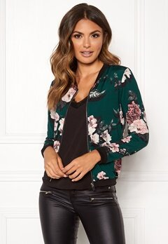 Happy Holly Hanna jacket Dark green / Patterned Bubbleroom.eu