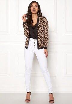 Happy Holly Hannele jacket Leopard Bubbleroom.eu