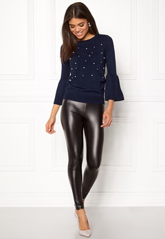Happy Holly Hannie sweater Dark blue Bubbleroom.eu
