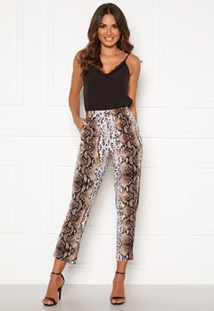 Happy Holly Hazel tricot pants Animal print Bubbleroom.eu
