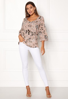Happy Holly Heather blouse Pink / Patterned Bubbleroom.eu