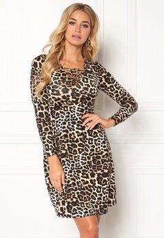 Happy Holly Irina dress Leopard Bubbleroom.eu