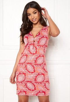 Happy Holly Isabella dress Orange / Patterned Bubbleroom.eu