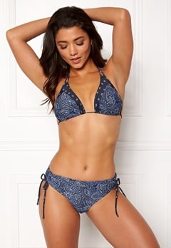 Happy Holly Jade bikini bra Blue / Patterned Bubbleroom.eu
