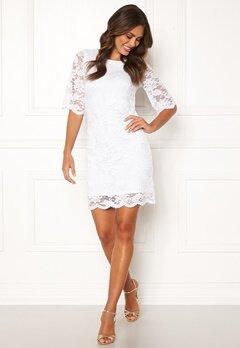 Happy Holly Jade lace dress White Bubbleroom.eu