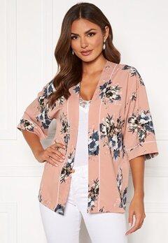Happy Holly Jelena kimono blouse Pink / Patterned Bubbleroom.eu