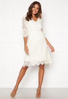 Happy Holly Jenna lace dress White Bubbleroom.eu