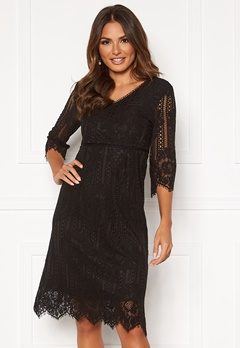 Happy Holly Jenna lace dress Black Bubbleroom.eu
