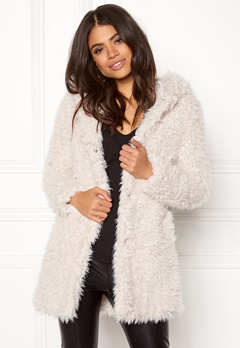 Happy Holly Jenny coat Light beige Bubbleroom.eu