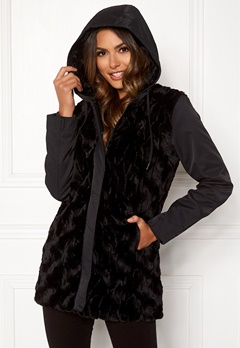 Happy Holly Josephine jacket Black Bubbleroom.eu