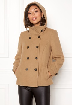 Happy Holly Josey jacket Camel Bubbleroom.eu