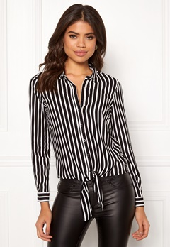 Happy Holly Juliette knot shirt Striped Bubbleroom.eu