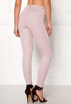 Happy Holly Justina tricot pants Dusty pink Bubbleroom.eu