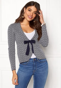 Happy Holly Kara cardigan Navy / Offwhite Bubbleroom.eu