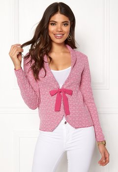 Happy Holly Kara cardigan Pink / Offwhite Bubbleroom.eu