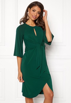 Happy Holly Kim dress Dark green Bubbleroom.eu