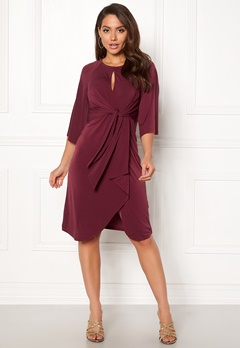 Happy Holly Kim dress Wine-red Bubbleroom.eu