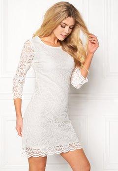 Happy Holly Lina lace dress Offwhite Bubbleroom.eu