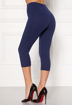 Happy Holly Beata Crop leggings Navy / Black Bubbleroom.eu
