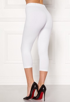 Happy Holly Beata Crop leggings Black / White Bubbleroom.eu