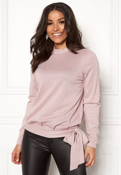Happy Holly Lily lurex top Pink / Silver Bubbleroom.eu
