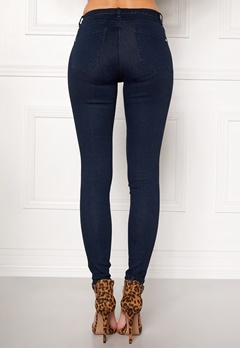 Happy Holly Limone jeans Dark denim Bubbleroom.eu