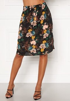 Happy Holly Lina beach skirt Black / Floral Bubbleroom.eu