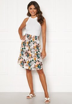 Happy Holly Lina beach skirt White / Floral Bubbleroom.eu