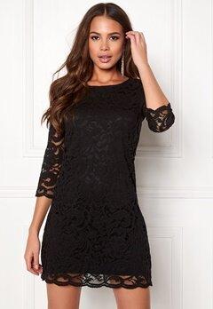 Happy Holly Lina lace dress Black Bubbleroom.eu