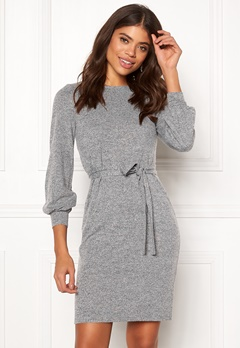Happy Holly Liz dress Grey melange Bubbleroom.eu