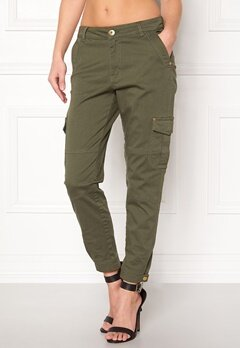 Happy Holly Lucy trousers Khaki green Bubbleroom.eu