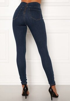 Happy Holly Lyra zip pants Medium denim Bubbleroom.eu