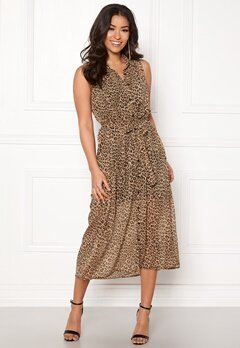 Happy Holly Maddy dress Leopard Bubbleroom.eu