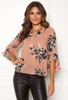 Happy Holly Madelyn Blouse Pink / Patterned Bubbleroom.eu