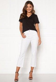 Happy Holly Maja high waist jeans White Bubbleroom.eu