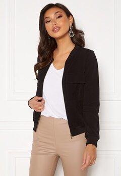 Happy Holly Maya pocket jacket Black Bubbleroom.eu