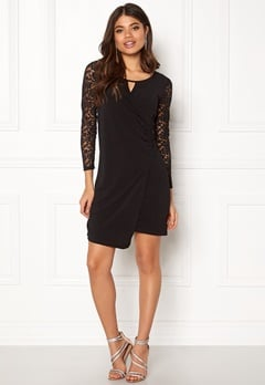Happy Holly Melina dress Black Bubbleroom.eu