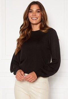 Happy Holly Melina sweater Black Bubbleroom.eu