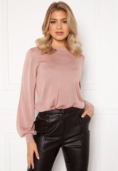 Happy Holly Melina sweater Dusty pink Bubbleroom.eu