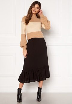 Happy Holly Melony skirt Black Bubbleroom.eu