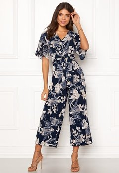 Happy Holly Michelle Jumpsuit Dark blue / Patterned Bubbleroom.eu