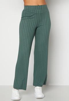 Happy Holly Mila wide pants Green Bubbleroom.eu