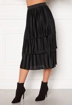 Happy Holly Naomi pleated skirt Black Bubbleroom.eu