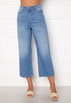 Happy Holly Pamela wide leg culotte jeans Medium denim Bubbleroom.eu